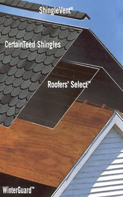 Paramount roofing certainteed select shingle roofer columbus roofing replacement windows for Integrity roofing and exteriors